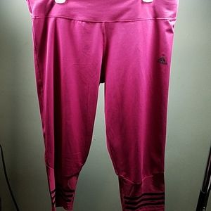 Adidas Pink Leggings
